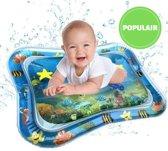 Trendio®️ Opblaasbare Water Mat - Waterspeelmat - Watermat - Ontwikkeling Baby - Baby Leren - Baby Trainen - Spelen Baby - Spelletjes Baby - Baby Stimuleren - Buiktijd - Motoriek Baby - Water Baby - Kraamcadeau - Babyshower