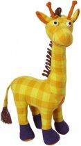 Pluche knuffel giraffe 28 cm