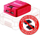 EINHELL Accu USB-Power Bank TE-CP 18 Li Solo - Power-X-Change - 18 V - 2 USB-poorten - Zonder accu & lader