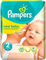 Pampers Baby luier New Baby Maat 2 - 204 stuks