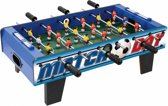 Toyrific Match Day voetbaltafel hout 24 x 69 37 cm blauw
