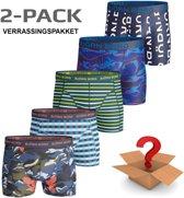 Björn Borg - Heren Onderbroeken 2-Pack Boxers - Multi - Maat XL