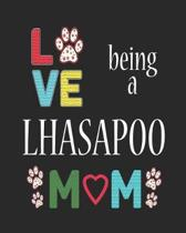 Love Being a Lhasapoo Mom
