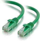 C2G Cat5E Snagless Patch Cable Green 0.5m