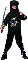 Carnavalskleding American ninja kind Maat 152