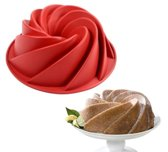 Kitchen Princess - Siliconen Bakvorm Tulband - Cakevorm - Taartvorm