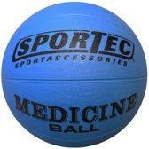 Sportec Medicine Bal Rubber 2 Kg Blauw