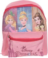 Disney - Prinsessen - Rugzak Meisje - Roze - 31x25x10cm