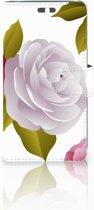 Huawei Y625 Uniek Boekhoesje Roses