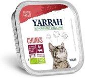 Yarrah brokjes in saus gluten vrij - 16 st à 100 gr