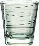 Leonardo Vario - whiskeyglas - grijs - 6 stuks