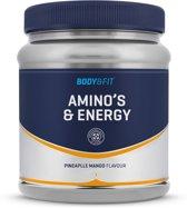 Body & Fit Amino's & Energy - Pre-workout aminozuren - 246 gram (20 servings) - Pineapple Mango