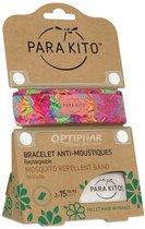 Parakito Anti-Muggen Armband Hawaï Pink Summer Time + 2 navullingen