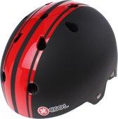 Cycle Tech Fietshelm Xcool 2.0 Zwart/rood Maat 55/58 Cm