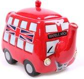 Theepot Thema Engeland Londen Engelse dubbeldekker bus Thee cadeau