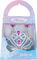 Free And Easy Prinsessenset 3-delig Zilver/roze