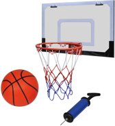 vidaXL Mini basketbal set + bal & pomp