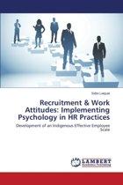 Recruitment & Work Attitudes