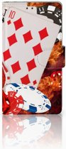 Sony Xperia Z2 Uniek Ontworpen Design Hoesje Casino