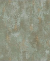 DUTCH WALLCOVERINGS Behang beton groen TP1010