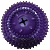 Een rubber speeltje in de vorm van een wiel