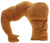 FPBS Funny Boyfriend Pillow Boyfriend Pillow Muscle Pillow Side Sleeper Pillow Slapen Pillow Girlfriend Gifts Verjaardagscadeau