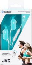 JVC HA-EBT5-A JVC Sport Bluetooth Stereo Headset Azure/White