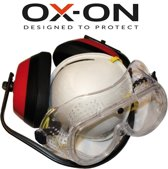 OX-ON Safety Kit - 3 delige Doe het zelf set - Klusset - veiligheidsset - klussen - Gehoorbescherming - Veiligheidsbril - Stofmasker