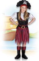 Kinderkostuum Piraat Annie - 4-6 jaar