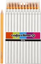 Colortime Kleurpotloden, vulling: 5 mm, huidskleur, Jumbo, 12 stuks
