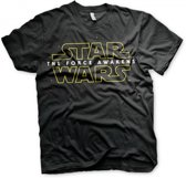 Star Wars Heren T-Shirt Maat 2XL Zwart