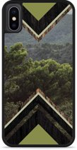 iPhone Xs Hardcase hoesje Forest wood