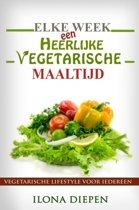 Omslag van 'Elke week een heerlijke vegetarische maaltijd'