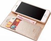Xundd - iPhone 8 (4.7 inch) ultra Soft Portemonnee hoesje / book case met pasjes Champagne Goud