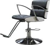 Kappersstoel - Chique stoel uitgevoerd in PU-leer