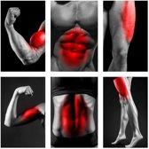 Rip'd EMS Bodytrainer - Sixpack Trainer - Massage Apparaat - Elektrische Buiktrainer - Armen Trainer - AB Trainer - Fitness Afvallen - Lichaam Trainer - Spier Massage - Zwart - 6 programma's - Inclusief 10 Gratis Gel Pads