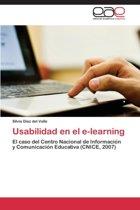 Usabilidad En El E-Learning