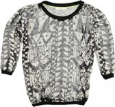 Gaudi polyester shirt 3/4 mouw - Maat XS