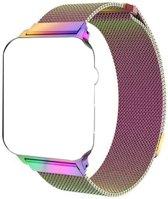 Merkloos Milanees bandje - Apple Watch Series 1/2/3 (42mm) - Rainbow