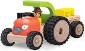 Houten speelgoedvoertuig Tractor