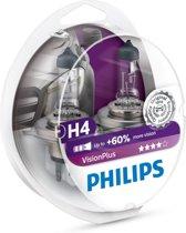Philips Vision Plus - Auto Koplamp - H4 12V Set