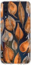 Casetastic Smartphone Hoesje Softcover Samsung Galaxy A50 (2019) - Cascading Leaves