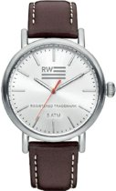 River Woods RW420026 Yukon horloge Heren - Bruin - Leer 42 mm