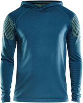 Craft Sportshirt Performance Heren Core Block Hood - Bosc/Snap - S