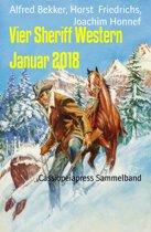 Vier Sheriff Western Januar 2018