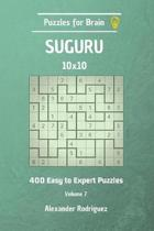 Puzzles for Brain Suguru - 400 Easy to Expert 10x10 Vol. 7