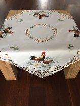 Tafelkleed - Kip - Kippen - Vierkant 85 cm - 1999A