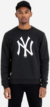 New Era TEAM LOGO CREW New York Yankees Trui - Black - M