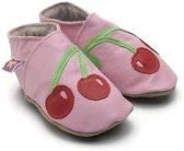 Starchild babyslofjes cherry baby pink Maat: M (12,4 cm)