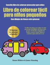 Sencillo Libro de Colorear Preescolar Para Ni os